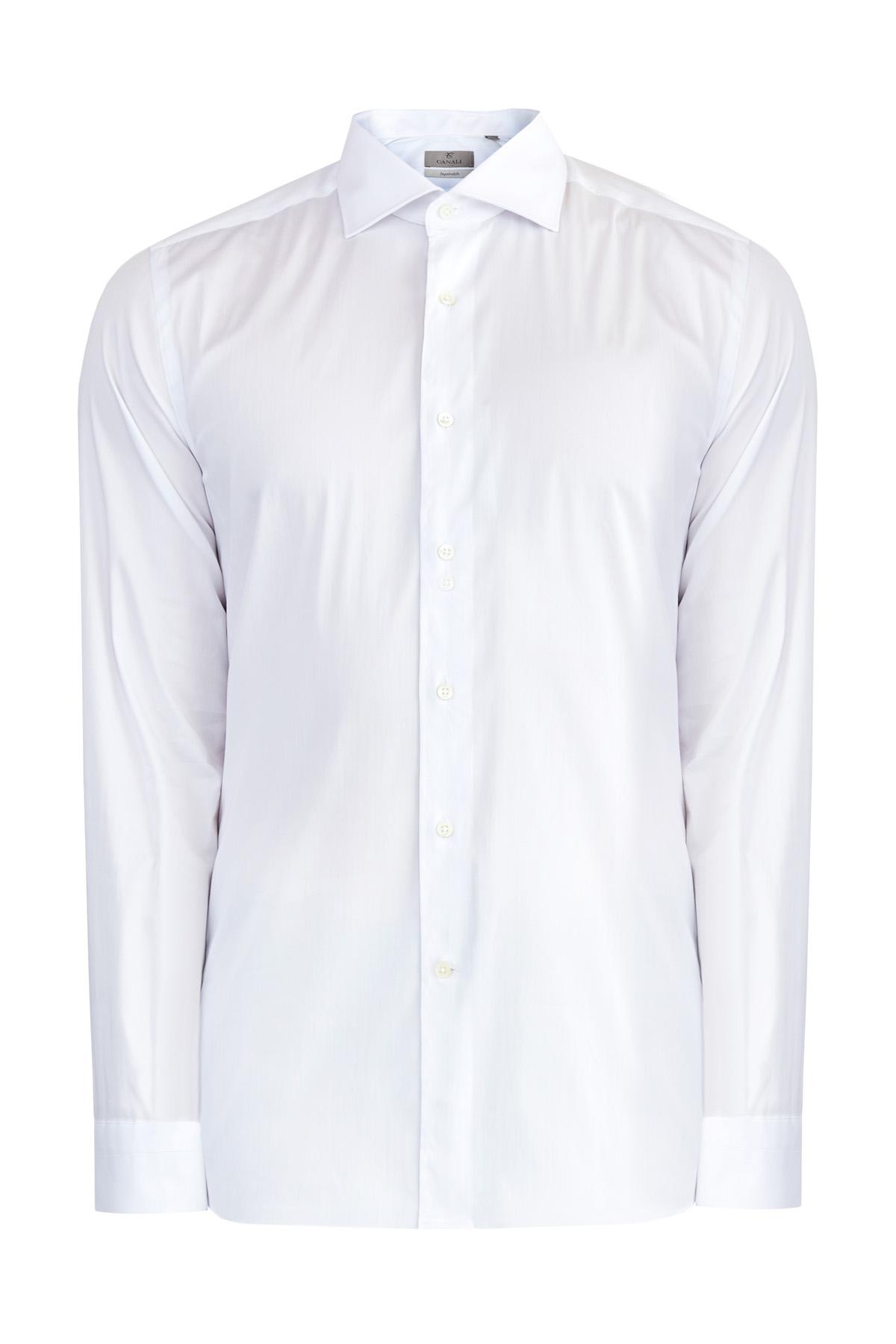 мужская рубашка с длинным рукавом canali
