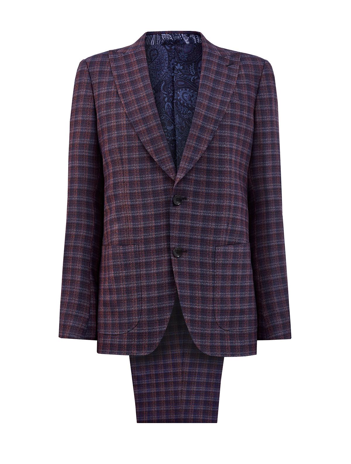 мужской классические костюм etro