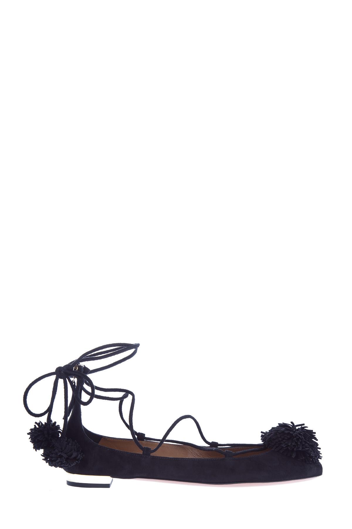 женские балетки aquazzura
