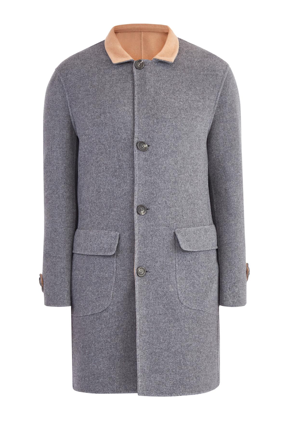 Купить Пальто, BRUNELLO CUCINELLI, Италия, шерсть 71%, кашемир 29%
