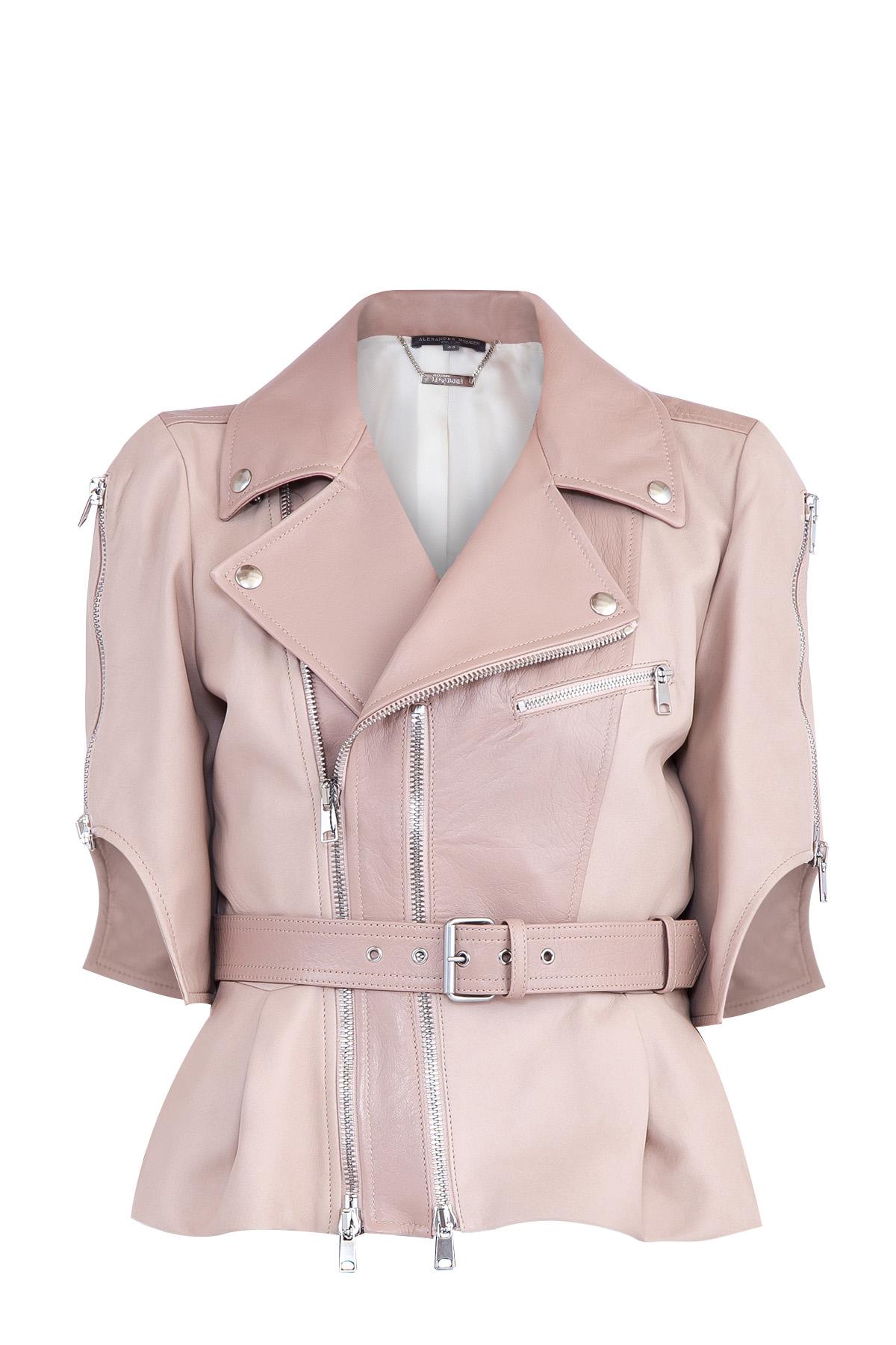 Купить Куртка, ALEXANDER MCQUEEN, Италия, кожа 100%