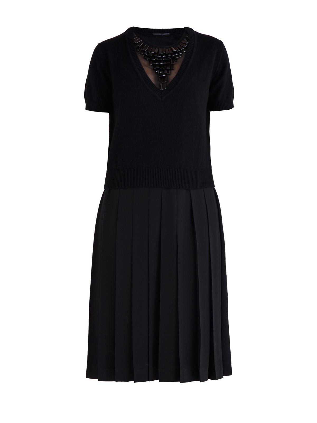 Купить Платье, ERMANNO SCERVINO, Италия, кашемир 100%