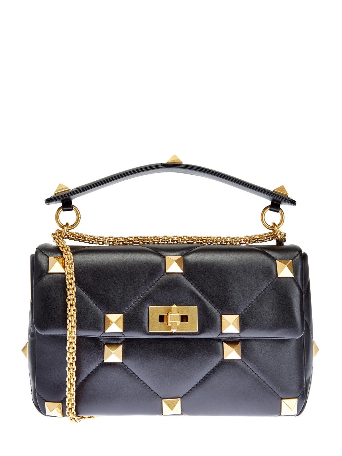 Кожаная сумка на цепочке Roman Stud The Shoulder Bag