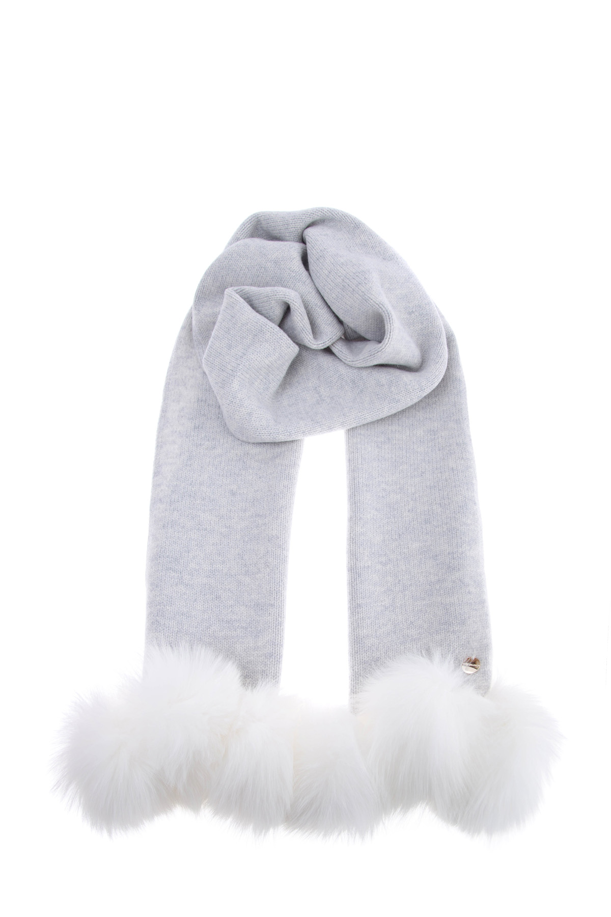 женский шарф yves salomon