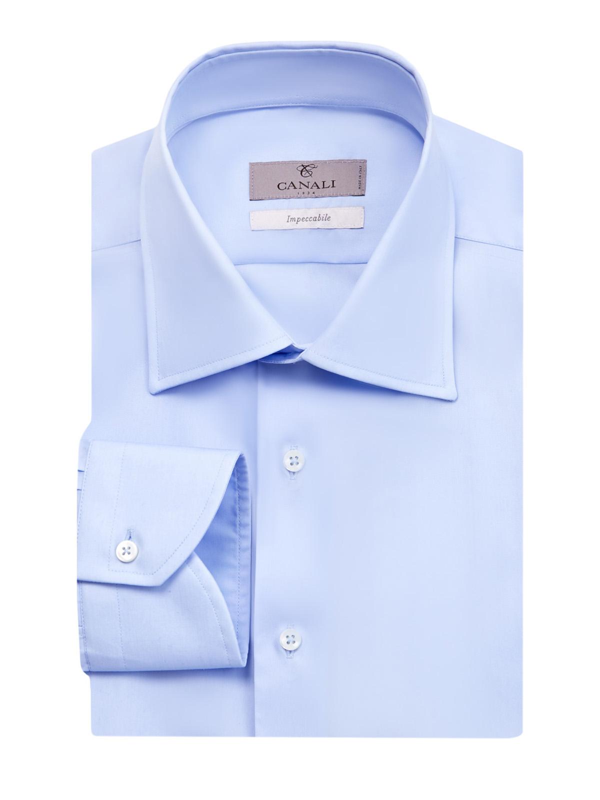 Минималистичная рубашка из хлопка Impeccabile