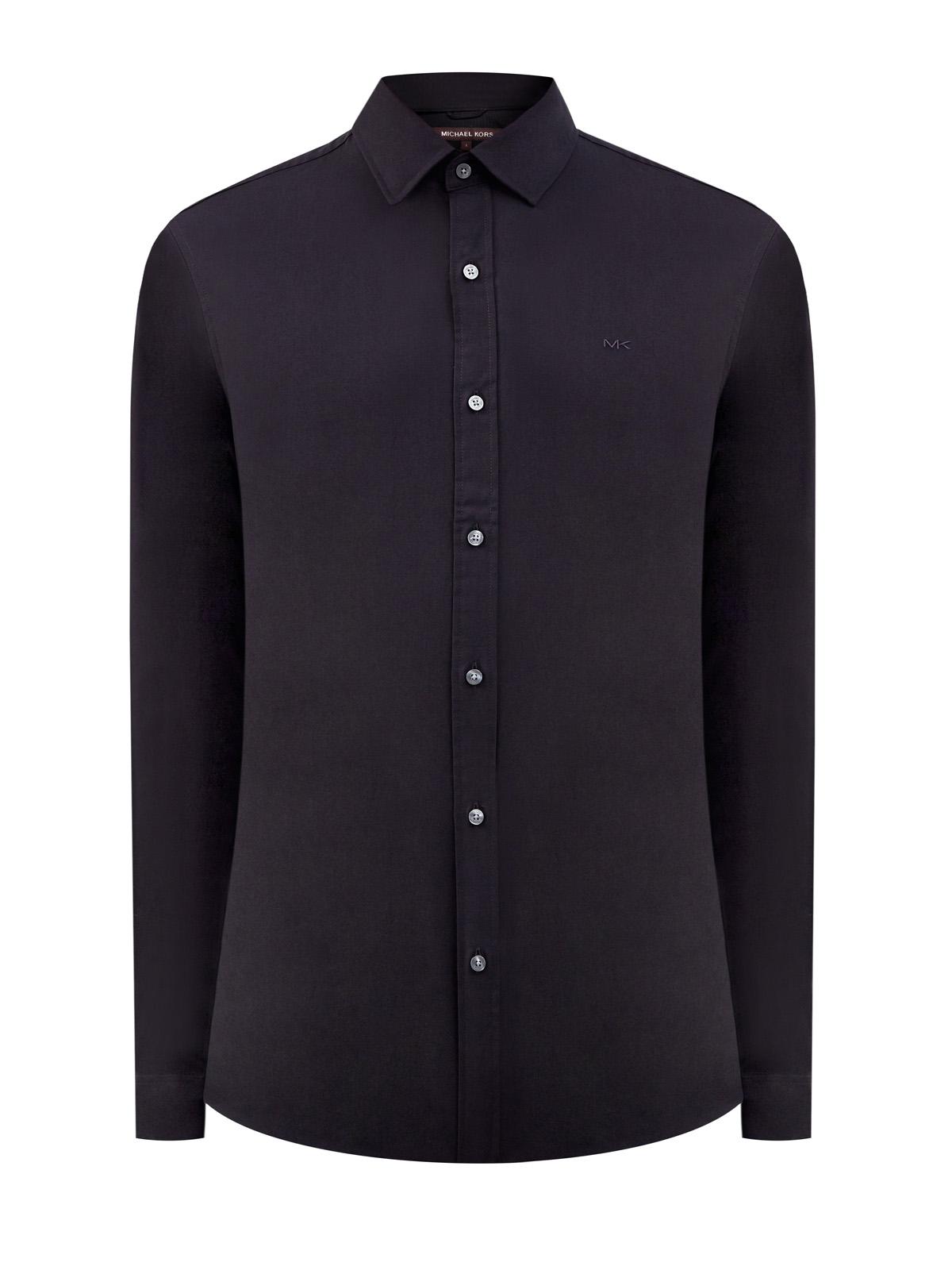 Классическая рубашка Slim Fit изэластичного хлопкового поплина