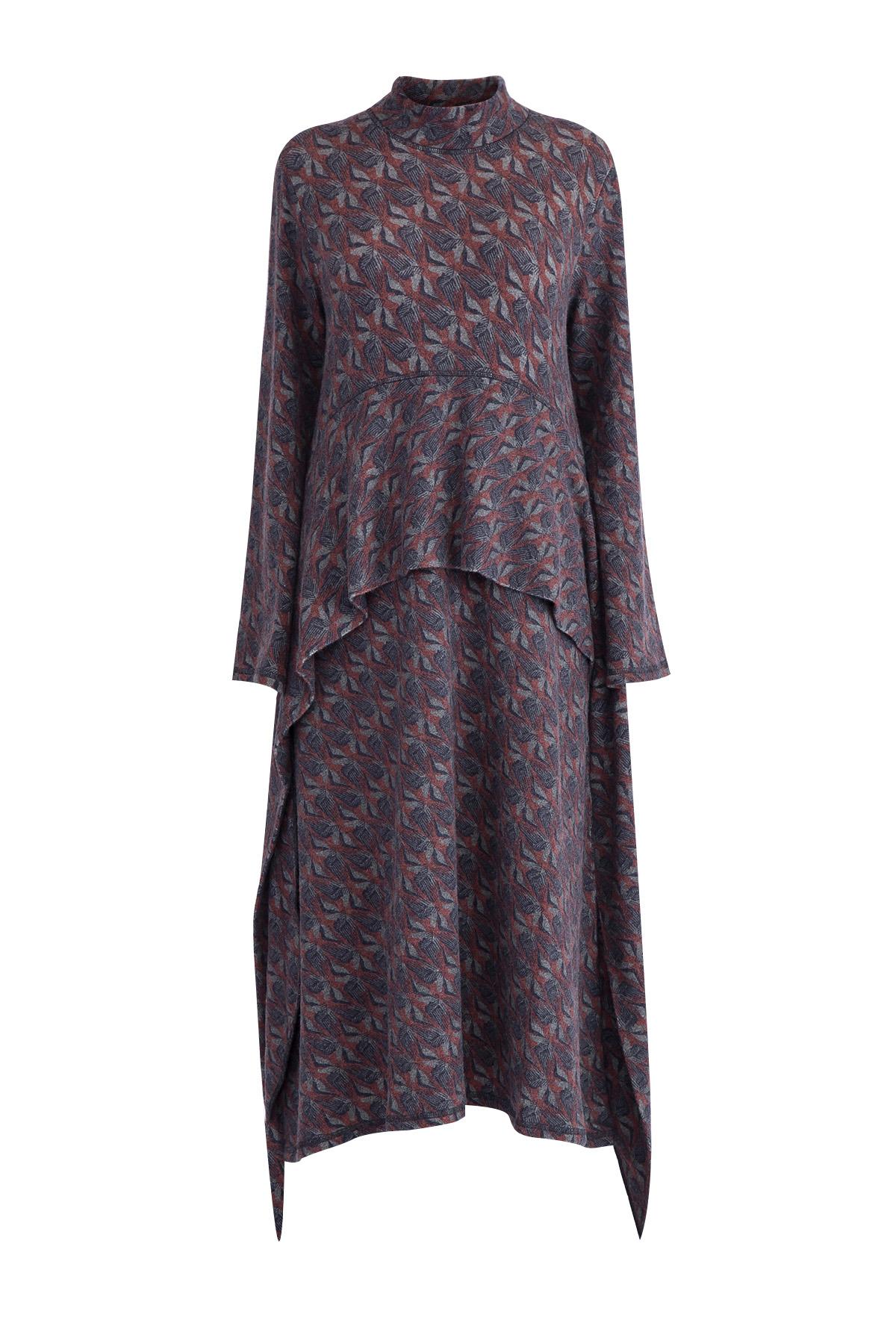 платьеПлатья<br><br>Материал: полиамид 68% ,  ангора 14% ,  шерсть 14% ,  эластан 4%;