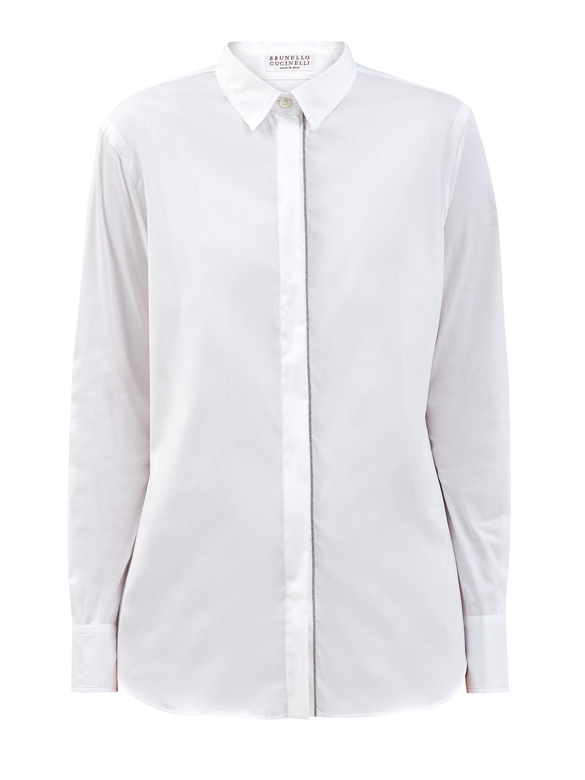женская рубашка brunello cucinelli