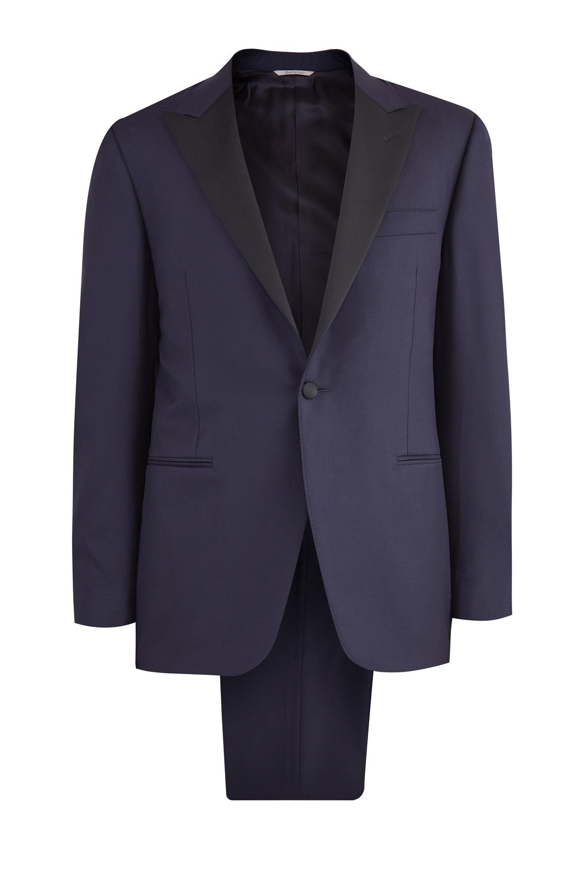 мужской классические костюм canali