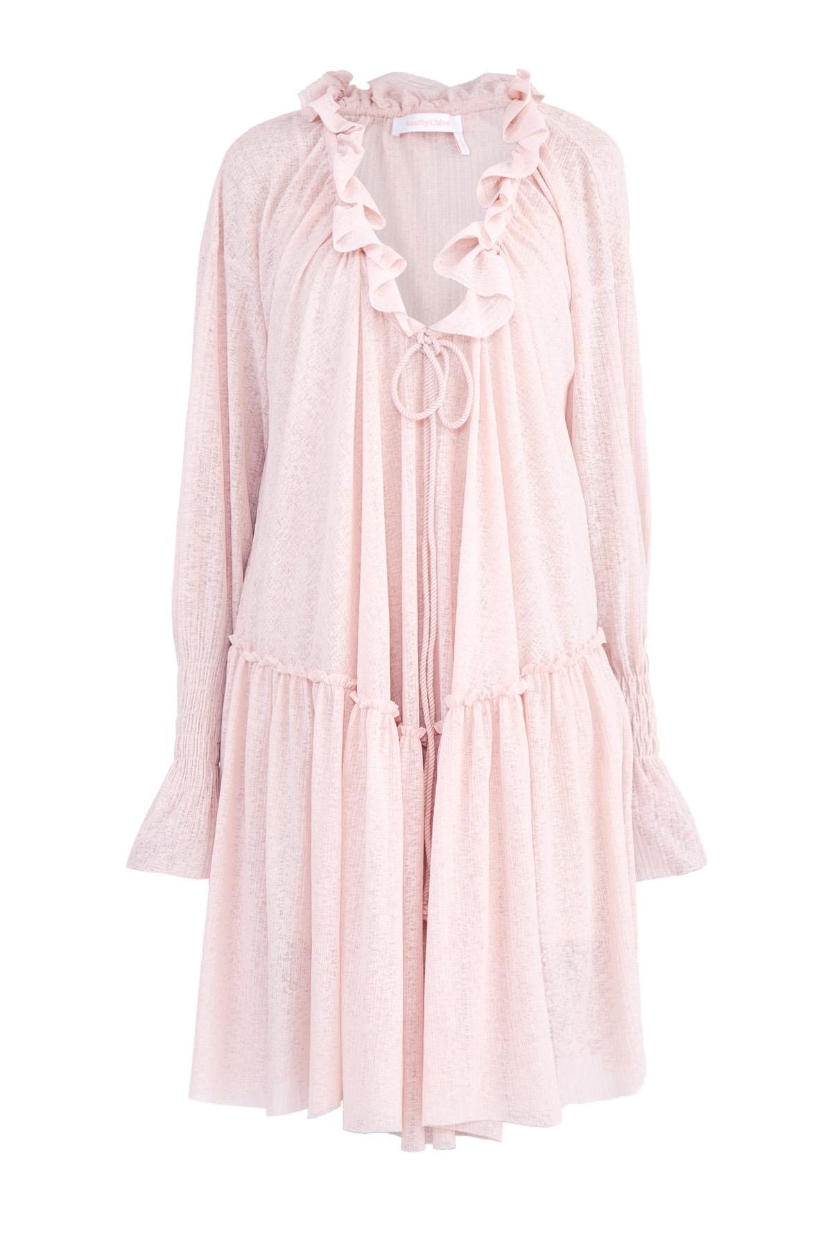 Купить Платье, SEE BY CHLOE, Франция, полиэстер 100%