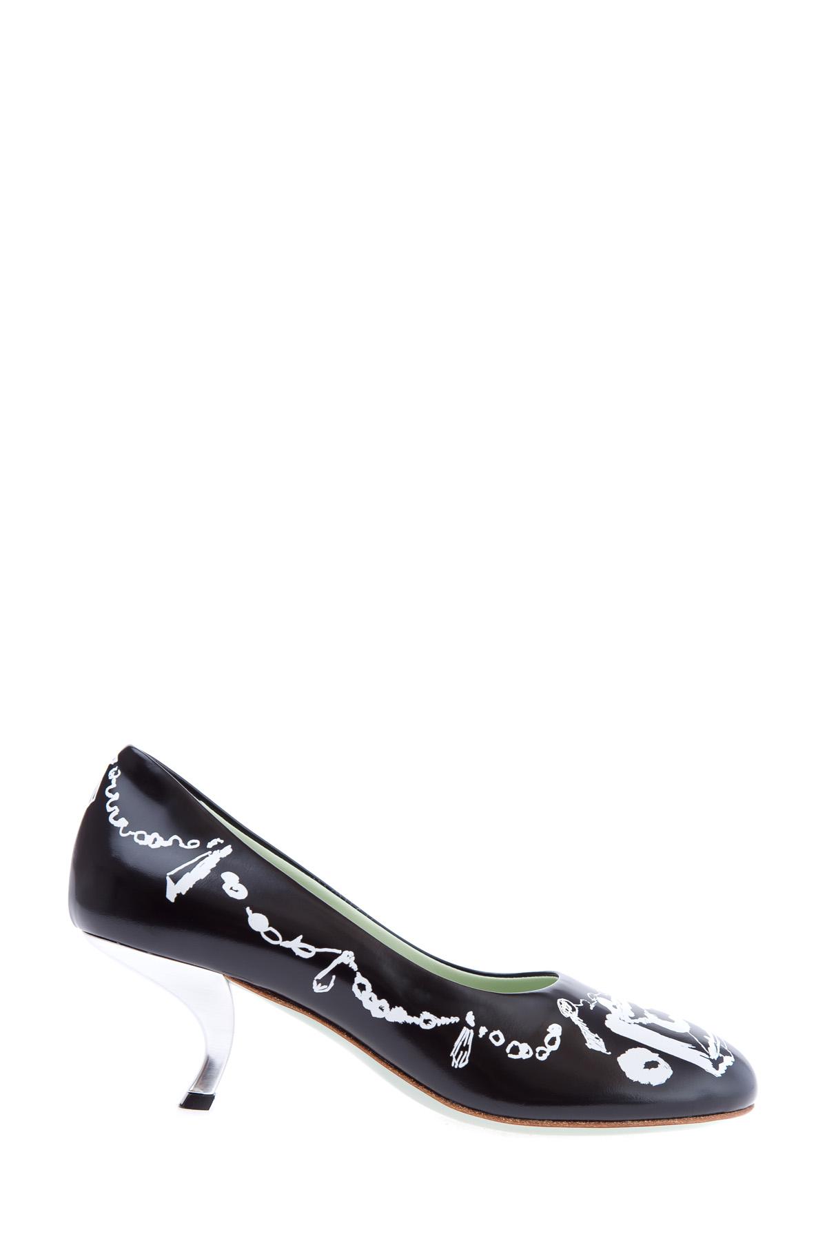 женские туфли на каблуке marni