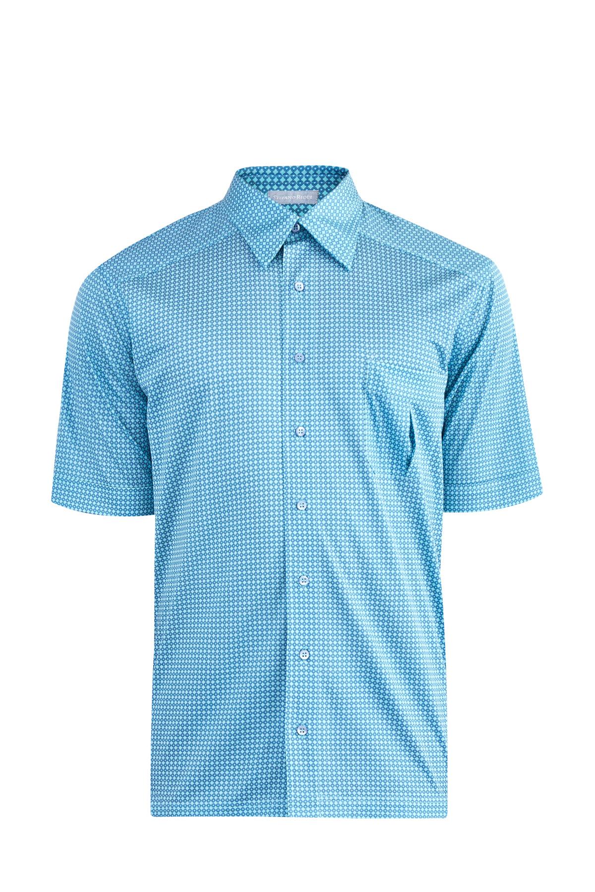 Рубашка, STEFANO RICCI, Италия, 100% шелк  - купить со скидкой