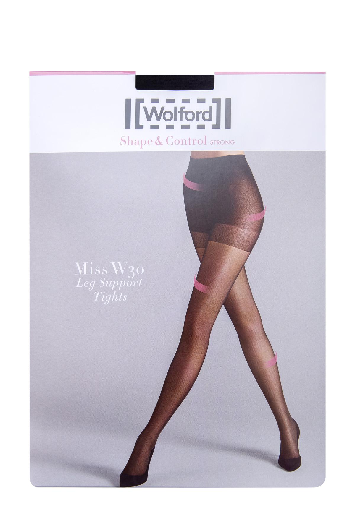 Колготки Miss W 30 den с поддержкой ног и коррекцией бедер и живота фото