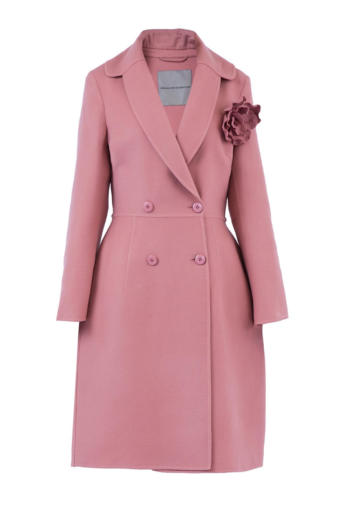 Купить Пальто, ERMANNO SCERVINO, Италия, шерсть 100%