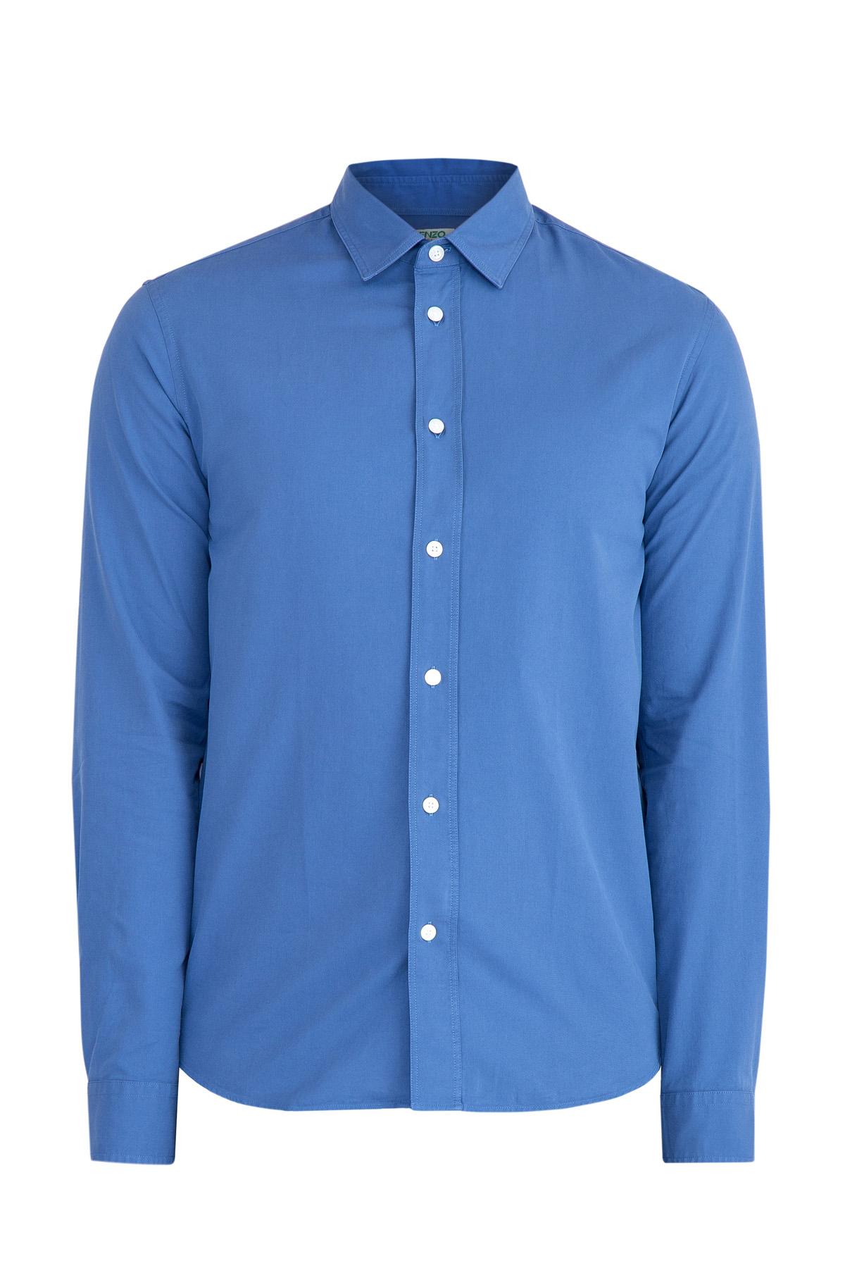 Рубашка, KENZO, Франция, хлопок 100%  - купить со скидкой