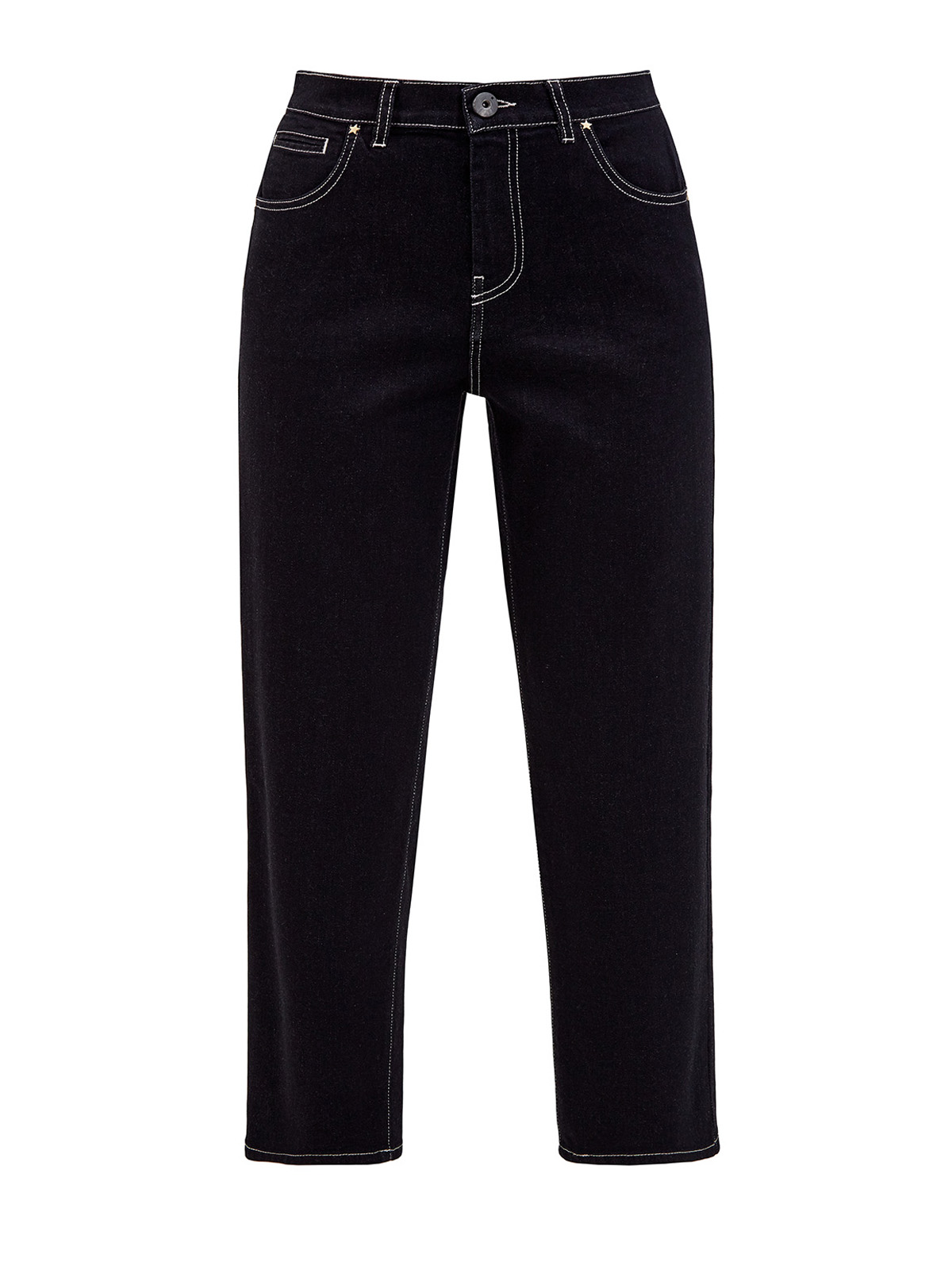 женские джинсы с высокой посадкой lorena antoniazzi