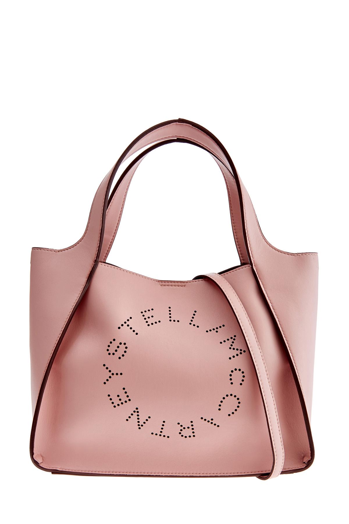 Купить со скидкой Сумка-тоут Stella Logo с декором в технике лазерной перфорации